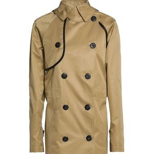 COACH Convertible cotton-gabardine trench 🧥